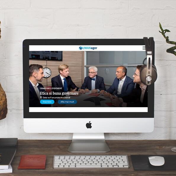 site unic de prezentare evenimente